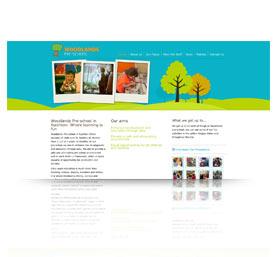website for Woodlands-Pre-School